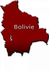 Logo carte Bolivie