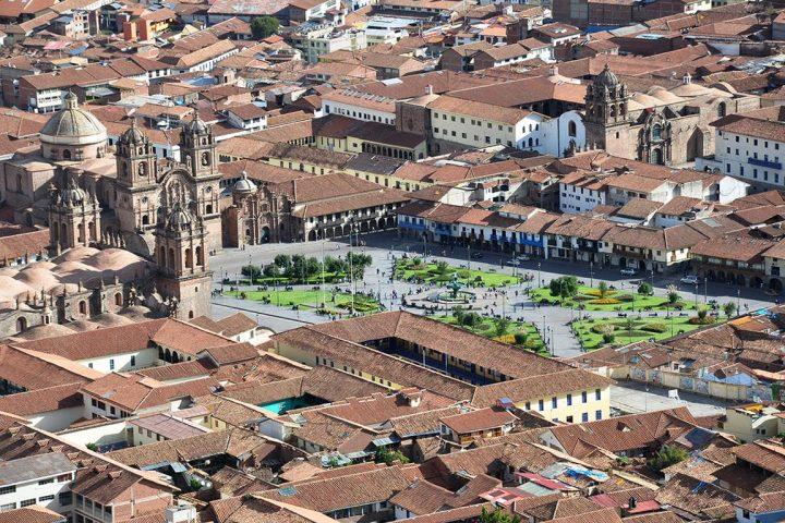 Plaza de armas cusco pasion andina