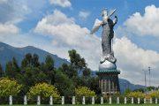 Quito - Cristo - Ecuador - Capitale - Panoramic view - Pasion Andina