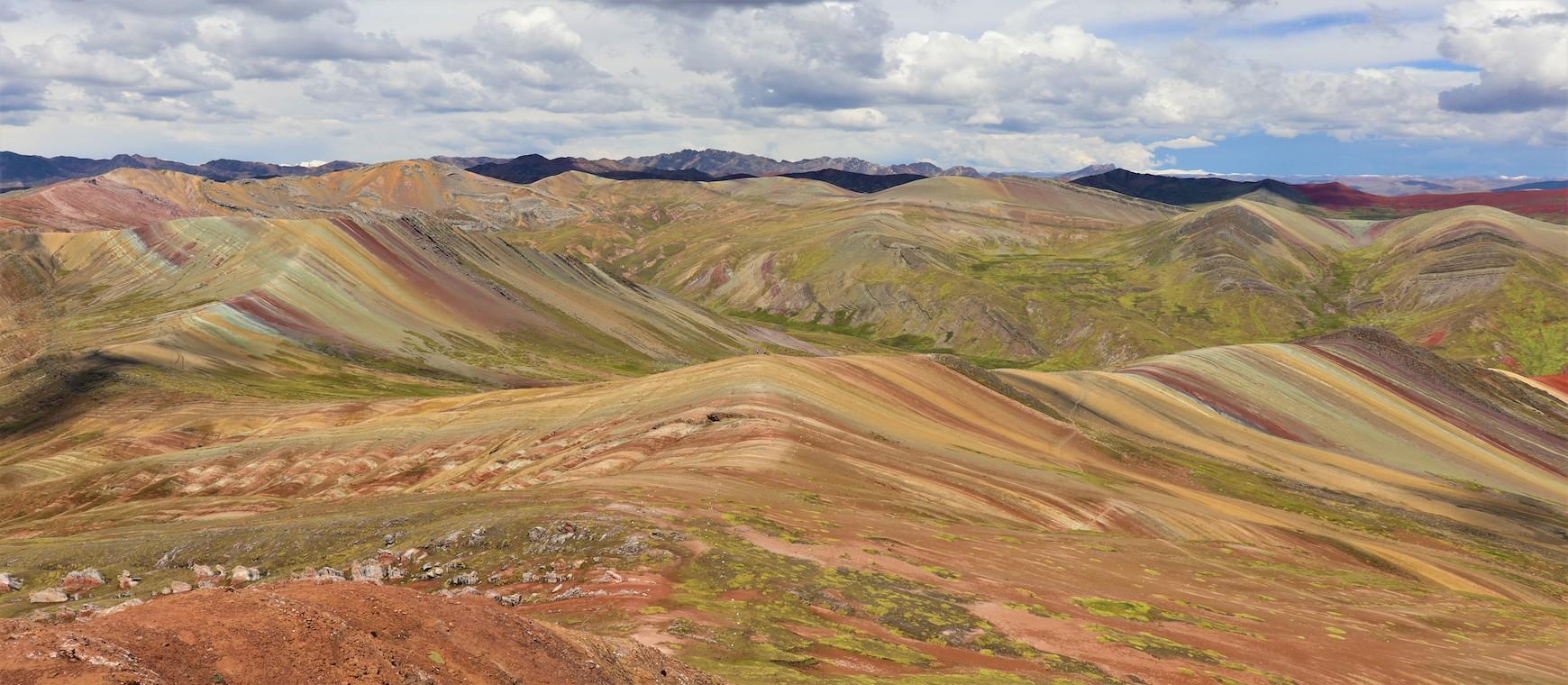 Palcoyo, l'autre cordillère arc-en-ciel de Cusco!