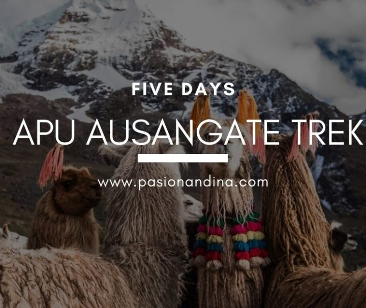 Apu Ausangate Trek 5 Days