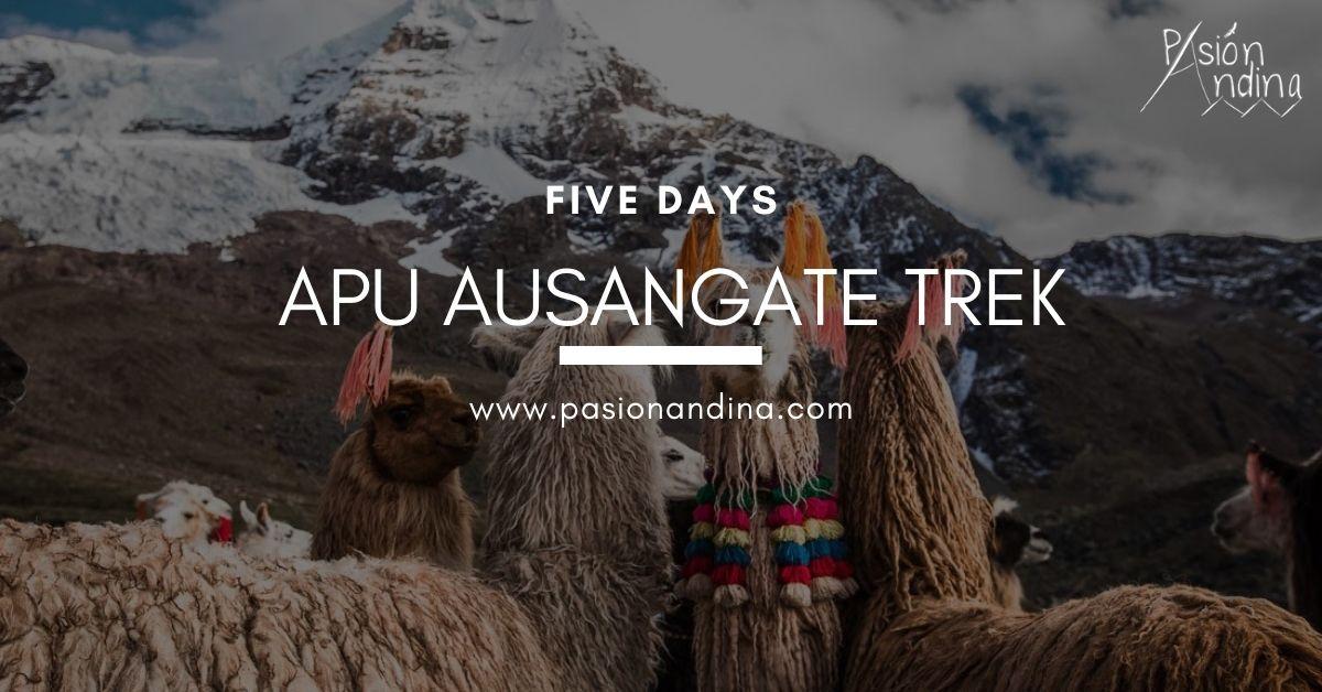 Apu Ausangate Trek 5 Days